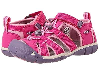 Keen Kids Seacamp II CNX (Toddler/Little Kid) (Very Berry/Lilac Chiffon) Girls Shoes