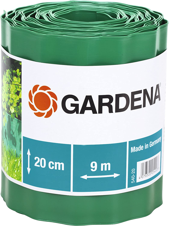 Gardena 540-20 - Cercadillo para Césped, Verde, 20 cm x 9 m (Ancho x Largo)