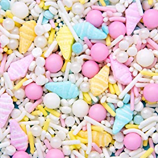 Sweets Indeed Sprinklefetti Ice Cream Sprinkle Mix - Gluten-Free Color Sprinkles for Baking - Cupcake and Cake Topper - 6....