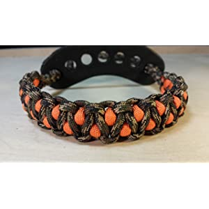 Muddy River Gear Archery Bow Wrist Sling Treestand and Orange Caged