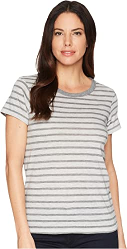 Eco Grey Heather Riviera Stripe