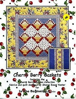 Cherry Berry Baskets (Quilt Pattern)