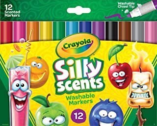 Crayola 12 Silly Scents™ Chisel Tip Markers