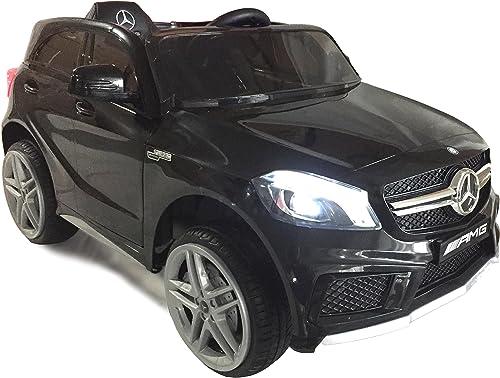Envío y cambio gratis. RIRICAR Mercedes-Benz A45 AMG, AMG, AMG, negro, Licencia Original, Alimentación por batería, Puertas de Apertura, Asiento de Cuero, Motor 2X, Batería de 12 V, Mando a Distancia de 2,4 GHz  punto de venta barato
