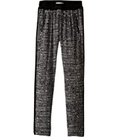 IKKS - Printed Loose Pants with Elastic Drawstring Waist & Zipper Pocket Detail (Big Kids)