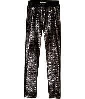 IKKS - Printed Loose Pants with Elastic Drawstring Waist & Zipper Pocket Detail (Big Kids)