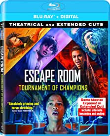 Escape Room: Tournament of Champions arrives on Digital Sept. 21 and on Blu-ray, DVD Oct. 5 from Sony Pictures