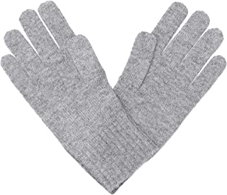 Unisex Plain Knit Solid Scarf - Matching Gloves 100% Pure Cashmere Accessories • Add Both to Cart for a Set