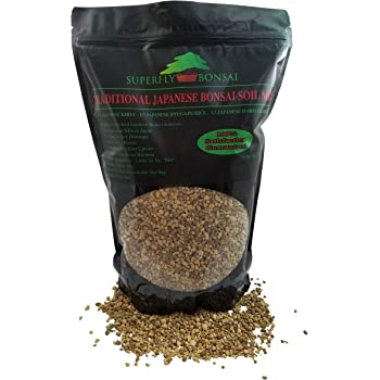 Amazon Com Traditional Japanese Bonsai Soil Mix Professional Sifted And Ready To Use Tree Potting Blend In Easy Zip Bag Kiryu Akadama Hyuga Pumice 2 5 Dry Quart Garden Outdoor