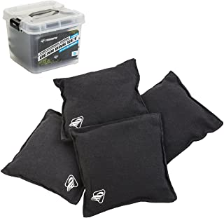"Triumph Black Canvas Cornhole Bags � 4 Bags Included, Size 6"" x 6"" 16 oz"