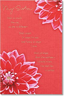 American Greetings Birthday Card for Sister (My Amazing Sister)