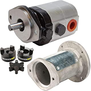 RuggedMade Hydraulic Log Splitter Build Kit - 22 GPM Pump, Engine Mounting Bracket, Coupler (For 1