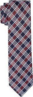 Van Heusen Men's Silk Check Tie, Sky Blue