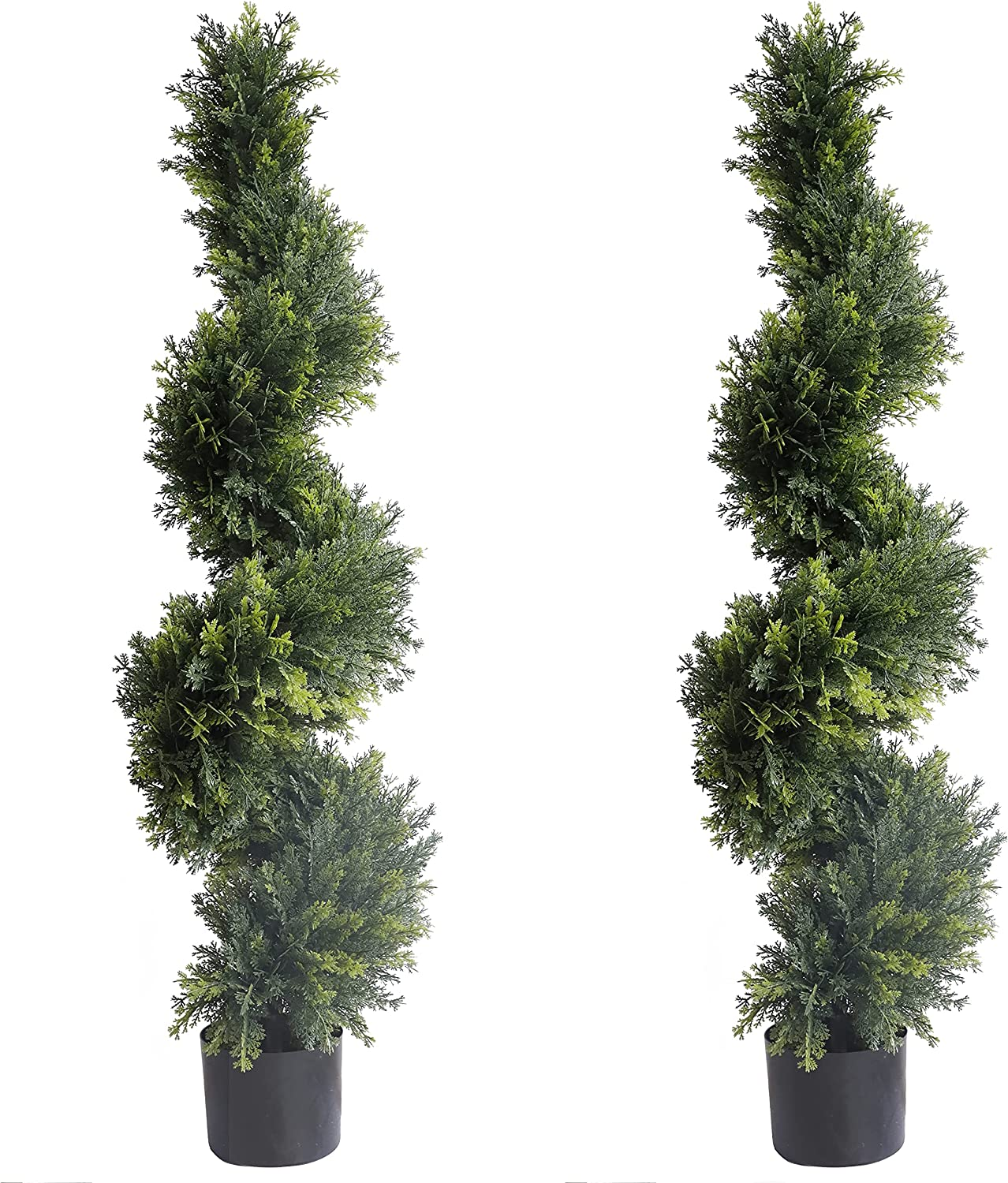 43.3 inch 3.6 ft Artificial Sales for sale trust Trees Topiary Cypress Cyp