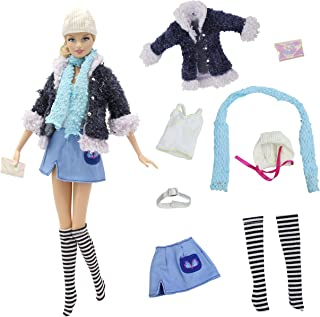 8 PCS Daily Fashion Outfits Clothes with Skirt, Hat & Scarf for Doll - by ZITA ELEMENT