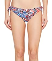 Tommy Bahama - Java Blossom Reversible Side-Tie Hipster Bikini Bottom