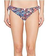 Tommy Bahama - Java Blossom Reversible Side-Tie Hipster Bikini Bottom