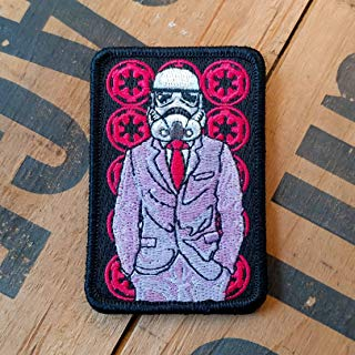 NEO Tactical Gear Star Wars Stormtrooper Suited Up Morale Patch - Available in Embroidered with Hook Backing or Iron On