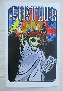 2010 Furthur New York Concert Poster