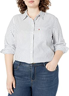 Women's Plus-Size Relaxed Fit Shirt