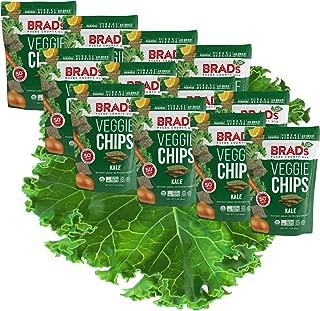 Brad's Plant Based Organic Veggie Chips, Kale, 12 Count