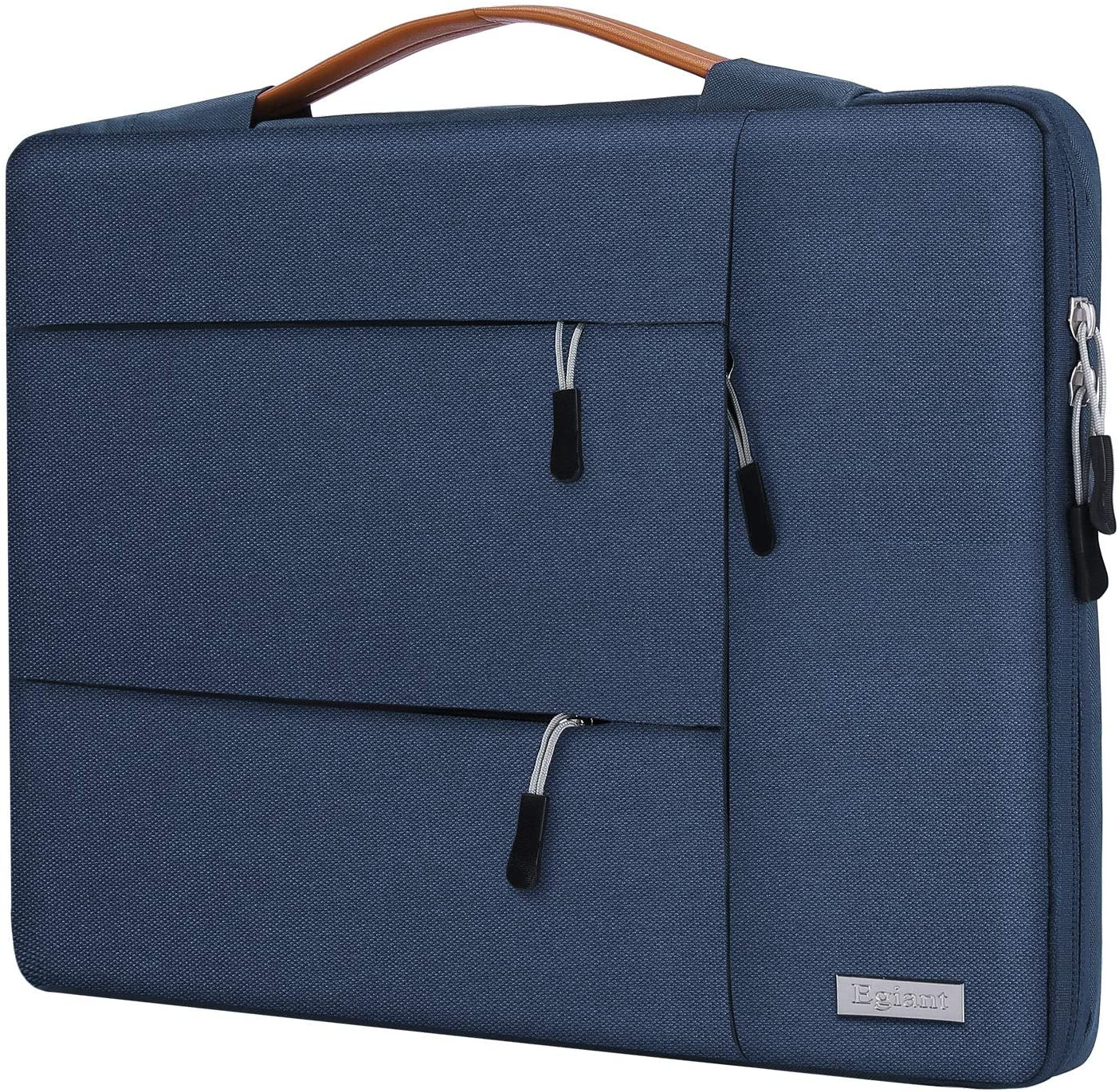 Egiant 14 inch Laptop Sleeve Case,360°Protective Handbag for HP Chromebook 14,Acer Spin 3/Aspire 1,Dell Inspiron 14/Latitude, Flex 14,ASUS VivoBook Zenbook,Water-Resistant Notebook Bag, Blue
