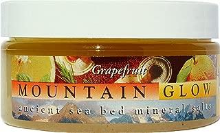 Mountain Glow Lavender & Tangerine exfoliating Body Scrub. Salt Scrub w/Fruit Extracts, Essential Oils that help you Achieve the Ultimate Exfoliant & Moisturized Body (Grapefruit, 8 oz)