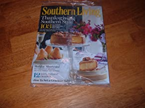 Southern Living magazine, November 2011 issue-Thanksgiving Southern Style