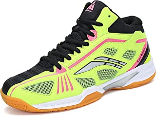 Mishansha Mens Athletic Court Tennis Shoes Squash Trail Running
