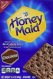 Nabisco, Honey Maid, Graham Crackers, Chocolate, 14.4oz Box (Pack of 3)