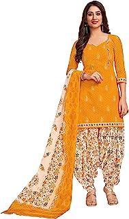 Miraan Women's Cotton Unstitched Patiyala Dress Material (SG118)