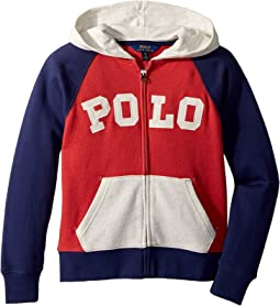 Cotton French Terry Hoodie (Big Kids)