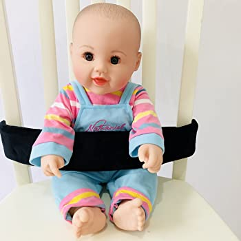 Universal Baby Chair Strap for Seating Infant&Toddler's Highchair Harness (Black)