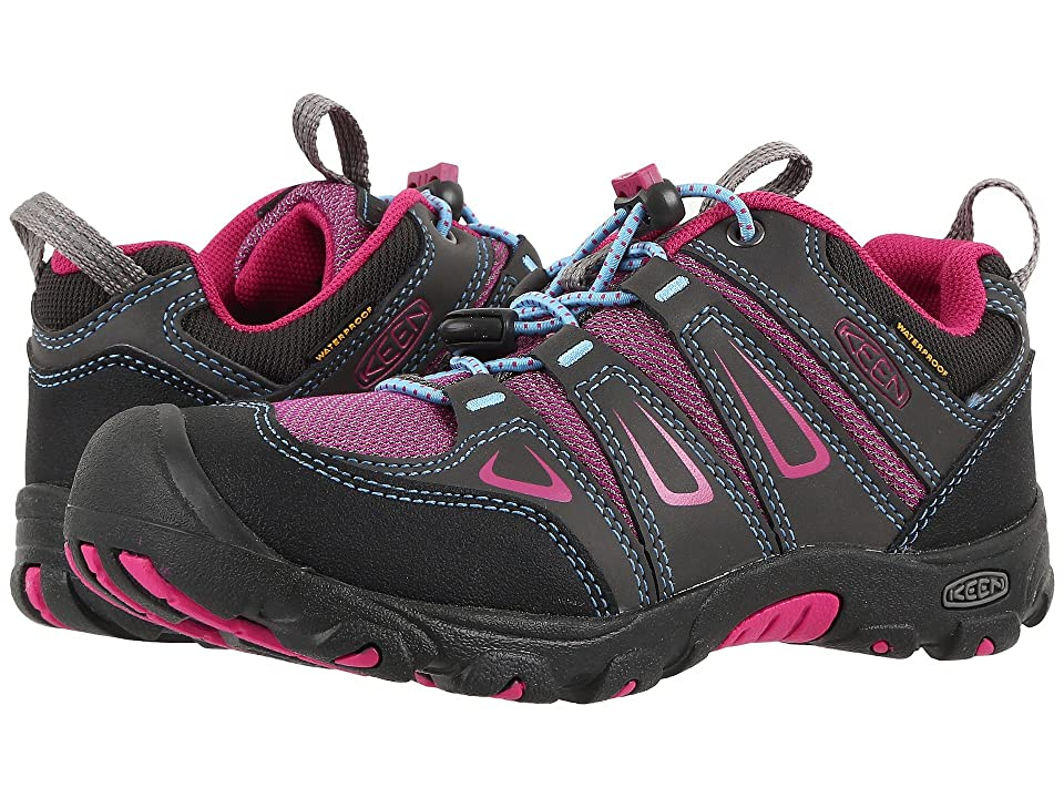 Keen Kids Oakridge Low WP (Little Kid/Big Kid) (Magnet/Very Berry) Girls Shoes