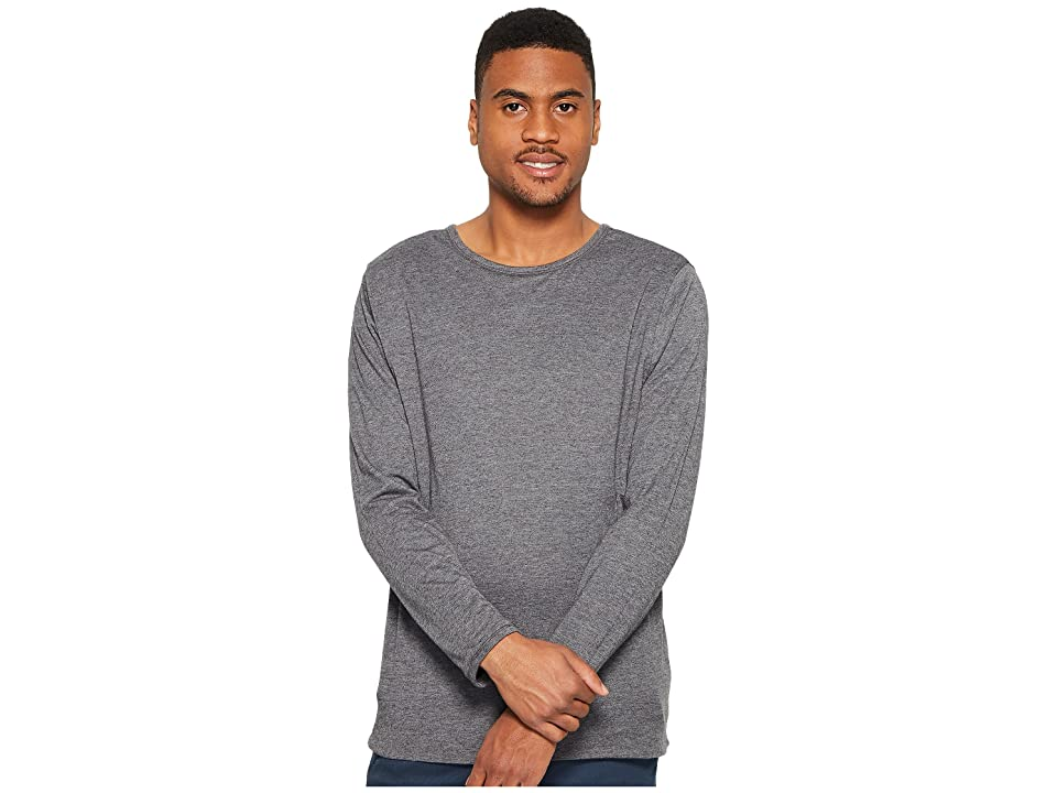 Image of 4Ward Clothing Four-Way Reversible Long Sleeve Jersey Tee (Charcoal/Black) Boy's Sweater