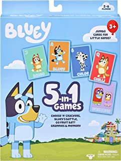 Bluey 13032 5-in-1 Games