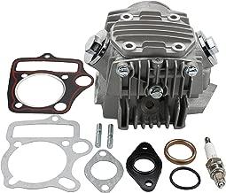 GOOFIT Completed Cylinder Head for 4 Stroke 110cc Engine for ATV Go Kart