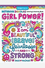 Notebook Doodle Girl Power!: Coloring & Activity Book Paperback