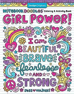 Notebook Doodle Girl Power!