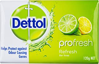 Dettol Profresh Bar Soap Refresh, 360g (Pack of 3)
