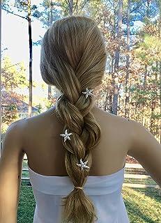 Beach Wedding Starfish Combs, Bridal Hair Accessory