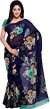 Anand Sarees georgette with blouse piece Saree