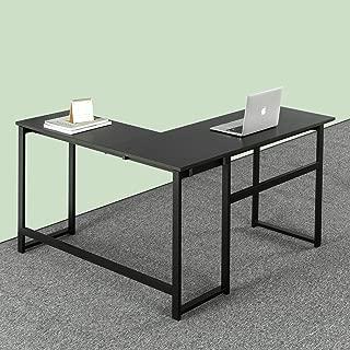 Zinus Luke L-Shaped Corner Computer Desk / Workstation / Home Office /Medium