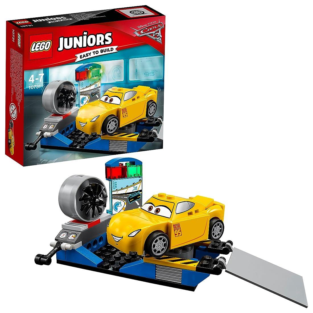 アナニバー民間人いとこレゴ (LEGO) ジュニア ディズニー カーズ クルーズ?ラミレスのレースシミュレーター 10731
