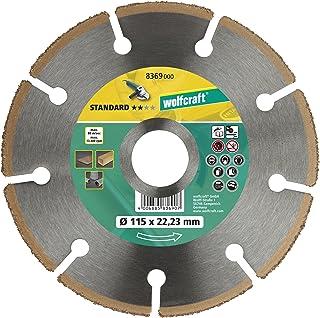 Wolfcraft 8369000 disco de tronzar CT para amoladora angular PACK 1, 0 W, 0 V, 115 x 22.23 mm