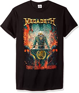 megadeth new world order shirt