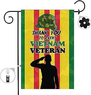 Best vietnam veteran garden flag Reviews