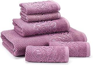 East'N Blue Galata Turkish Cotton Bath Towel Set - 6-Piece Towel Set - 1 Bath Towel, 1 Hand Towel, 4 Washcloth - Made from...