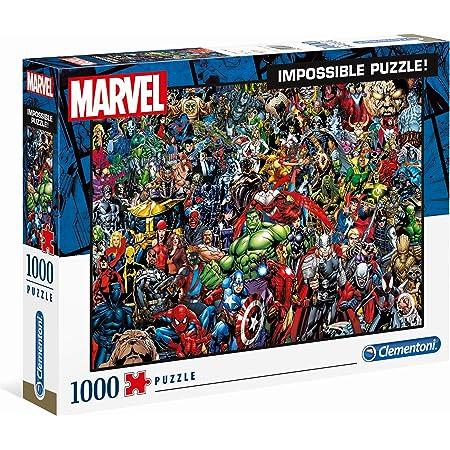 Clementoni - 39411 - Impossible Puzzle - Marvel Universe - 1000Pièces