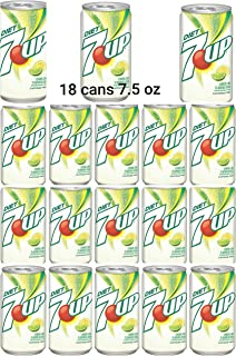 7UP diet , 7.5 oz Can (Pack of 18, Total of 135 Fl Oz)
